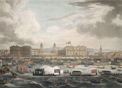 Funeral procession of the late Lord Viscount Nelson from Greenwich to Whitehall